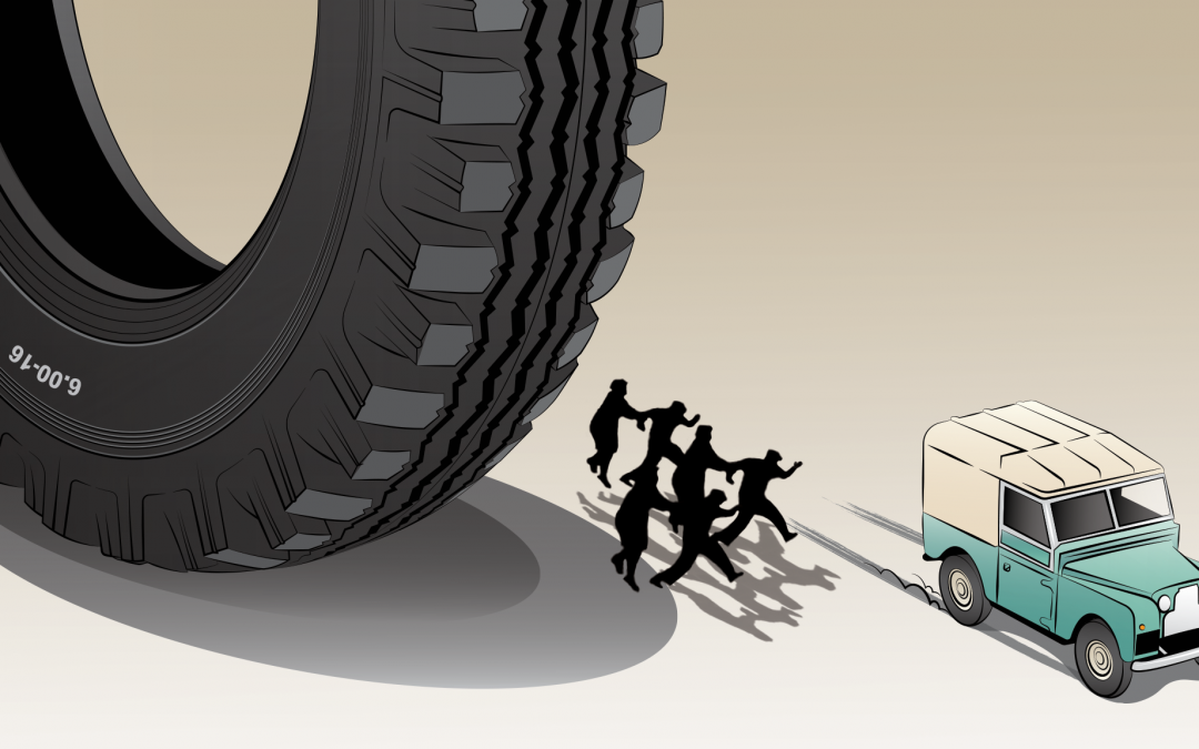 Bizarre Land Rover Illustration – Part 2