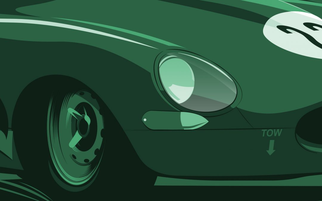 New Design #7 Jaguar E-Type