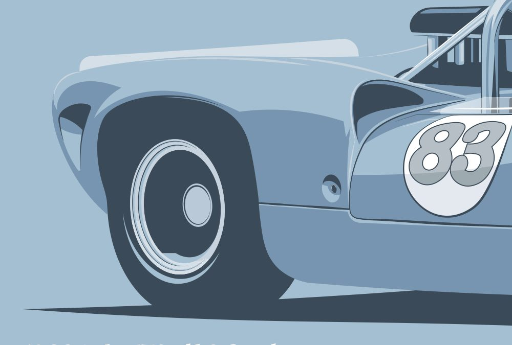 New Design #3 Lola T70 Spyder